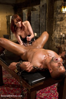 Photo number 14 from A Very Long Milking: Episode 1 shot for Divine Bitches on Kink.com. Featuring Maitresse Madeline Marlowe  and Robert Axel in hardcore BDSM & Fetish porn.