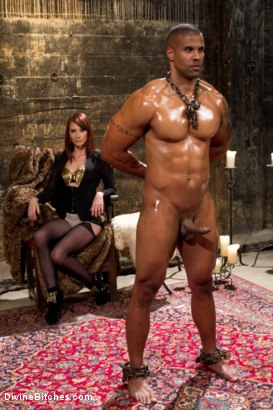 Photo number 1 from A Very Long Milking: Episode 1 shot for Divine Bitches on Kink.com. Featuring Maitresse Madeline Marlowe  and Robert Axel in hardcore BDSM & Fetish porn.