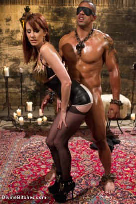Photo number 11 from A Very Long Milking: Episode 1 shot for Divine Bitches on Kink.com. Featuring Maitresse Madeline Marlowe  and Robert Axel in hardcore BDSM & Fetish porn.