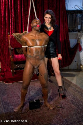 Photo number 15 from Bobbi Starr, why are you so damn sadistic!!?!?!?! shot for Divine Bitches on Kink.com. Featuring Bobbi Starr and Jack Hammer in hardcore BDSM & Fetish porn.