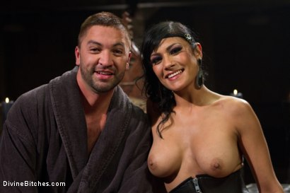 Photo number 7 from Divine Mummification Sex shot for Divine Bitches on Kink.com. Featuring Dominic Pacifico and Beretta James in hardcore BDSM & Fetish porn.
