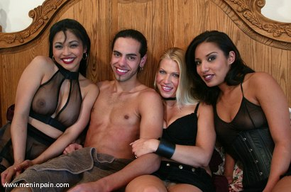 Photo number 15 from Xana Star, Jasmine Byrne, Mika Tan and Dax Star shot for Men In Pain on Kink.com. Featuring Xana Star, Jasmine Byrne, Mika Tan and Dax Star in hardcore BDSM & Fetish porn.
