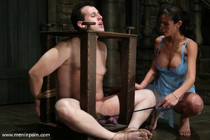 Photo number 3 from mini and shy love shot for Men In Pain on Kink.com. Featuring shy love and mini in hardcore BDSM & Fetish porn.