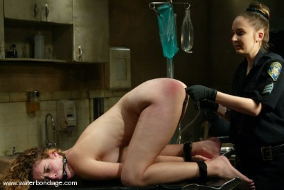Photo number 7 from 5 Girl Shoot: Part 1 shot for Water Bondage on Kink.com. Featuring Princess Donna Dolore and Lola in hardcore BDSM & Fetish porn.