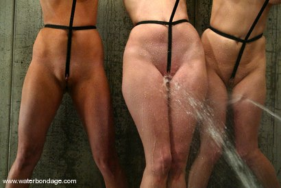 Photo number 10 from 5 Girl Shoot: Part 2 shot for Water Bondage on Kink.com. Featuring Isis Love, Jessica Sexin, Sasha Monet, Lola and Hollie Stevens in hardcore BDSM & Fetish porn.