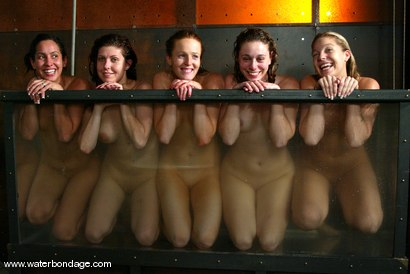 Photo number 15 from 5 Girl Shoot: Part 2 shot for Water Bondage on Kink.com. Featuring Isis Love, Jessica Sexin, Sasha Monet, Lola and Hollie Stevens in hardcore BDSM & Fetish porn.