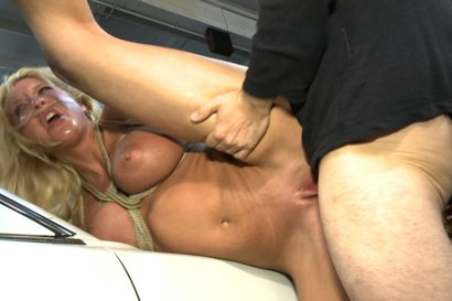 Photo number 10 from Busty Blonde Defiled in Public. Pretty Hair Used to mop up Oil shot for Public Disgrace on Kink.com. Featuring Tommy Pistol and Leya Falcon in hardcore BDSM & Fetish porn.