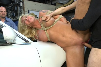 Photo number 11 from Busty Blonde Defiled in Public. Pretty Hair Used to mop up Oil shot for Public Disgrace on Kink.com. Featuring Tommy Pistol and Leya Falcon in hardcore BDSM & Fetish porn.