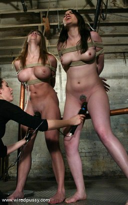 Photo number 7 from COLLECTION Part 3 shot for Wired Pussy on Kink.com. Featuring Dana DeArmond and Jenni Lee in hardcore BDSM & Fetish porn.
