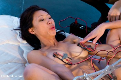 Photo number 3 from Tia Ling Gets Anally Fisted and Electro-Fucked! shot for Electro Sluts on Kink.com. Featuring Tia Ling, Ariel X and Chanel Preston in hardcore BDSM & Fetish porn.