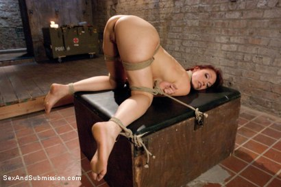 Photo number 7 from The Audition shot for Sex And Submission on Kink.com. Featuring Nicki Hunter and Danny Wylde in hardcore BDSM & Fetish porn.