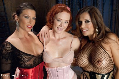 Photo number 15 from Anal Overload: Audrey Hollander shot for Everything Butt on Kink.com. Featuring Ariel X, Francesca Le  and Audrey Hollander in hardcore BDSM & Fetish porn.