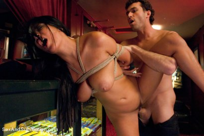 Photo number 13 from Sex Object: An Erotic BDSM Fantasy Feature Presentation shot for Sex And Submission on Kink.com. Featuring James Deen and Anissa Kate in hardcore BDSM & Fetish porn.
