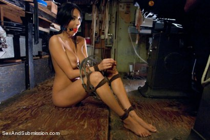 Photo number 8 from Sex Object: An Erotic BDSM Fantasy Feature Presentation shot for Sex And Submission on Kink.com. Featuring James Deen and Anissa Kate in hardcore BDSM & Fetish porn.