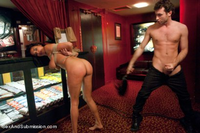 Photo number 12 from Sex Object: An Erotic BDSM Fantasy Feature Presentation shot for Sex And Submission on Kink.com. Featuring James Deen and Anissa Kate in hardcore BDSM & Fetish porn.