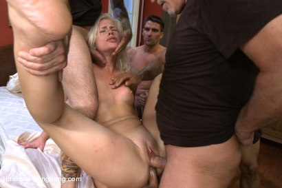 Photo number 7 from Beautiful Blonde gets set up by Boyfriend with Five Cocks shot for Hardcore Gangbang on Kink.com. Featuring Tara Lynn Foxx, John Strong, Dirk Huge, Toni Ribas, Mark Davis and Tommy Pistol in hardcore BDSM & Fetish porn.
