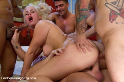 Photo number 9 from Beautiful Blonde gets set up by Boyfriend with Five Cocks shot for Hardcore Gangbang on Kink.com. Featuring Tara Lynn Foxx, John Strong, Dirk Huge, Toni Ribas, Mark Davis and Tommy Pistol in hardcore BDSM & Fetish porn.