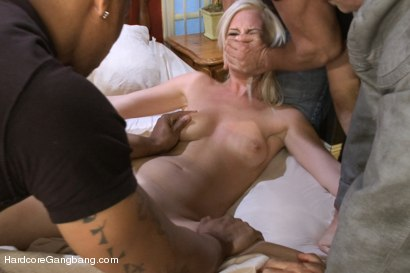 Photo number 3 from Beautiful Blonde gets set up by Boyfriend with Five Cocks shot for Hardcore Gangbang on Kink.com. Featuring Tara Lynn Foxx, John Strong, Dirk Huge, Toni Ribas, Mark Davis and Tommy Pistol in hardcore BDSM & Fetish porn.