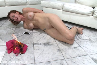 Photo number 15 from Playing With Fire - Starring Anal Queen Audrey Hollander shot for Hardcore Gangbang on Kink.com. Featuring Audrey Hollander, James Deen, Ramon Nomar, Toni Ribas, Karlo Karrera and Mr. Pete in hardcore BDSM & Fetish porn.