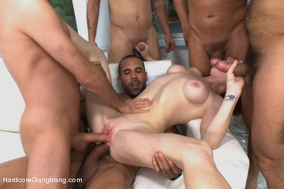 Photo number 12 from Playing With Fire - Starring Anal Queen Audrey Hollander shot for Hardcore Gangbang on Kink.com. Featuring Audrey Hollander, James Deen, Ramon Nomar, Toni Ribas, Karlo Karrera and Mr. Pete in hardcore BDSM & Fetish porn.