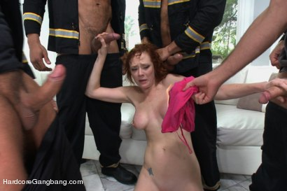 Photo number 4 from Playing With Fire - Starring Anal Queen Audrey Hollander shot for Hardcore Gangbang on Kink.com. Featuring Audrey Hollander, James Deen, Ramon Nomar, Toni Ribas, Karlo Karrera and Mr. Pete in hardcore BDSM & Fetish porn.