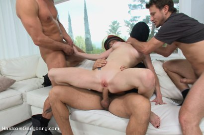 Photo number 6 from Playing With Fire - Starring Anal Queen Audrey Hollander shot for Hardcore Gangbang on Kink.com. Featuring Audrey Hollander, James Deen, Ramon Nomar, Toni Ribas, Karlo Karrera and Mr. Pete in hardcore BDSM & Fetish porn.