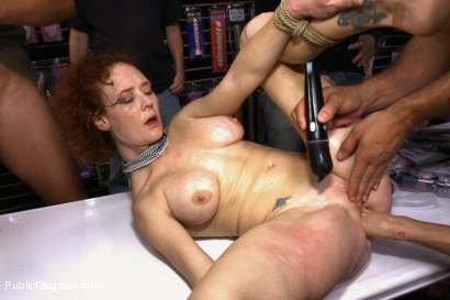 Photo number 12 from Gaping Asshole Fucked in Public shot for Public Disgrace on Kink.com. Featuring Audrey Hollander and Ramon Nomar in hardcore BDSM & Fetish porn.