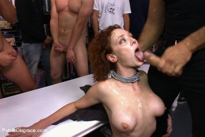 Photo number 14 from Gaping Asshole Fucked in Public shot for Public Disgrace on Kink.com. Featuring Audrey Hollander and Ramon Nomar in hardcore BDSM & Fetish porn.