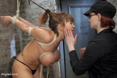 Photo number 5 from Ava Devine Wants It BAD shot for Hogtied on Kink.com. Featuring Ava Devine in hardcore BDSM & Fetish porn.