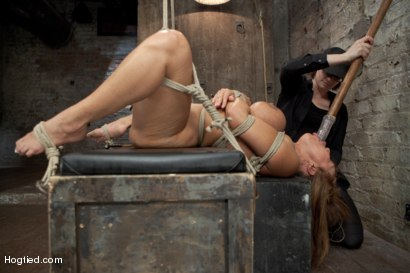 Photo number 7 from Ava Devine Wants It BAD shot for Hogtied on Kink.com. Featuring Ava Devine in hardcore BDSM & Fetish porn.
