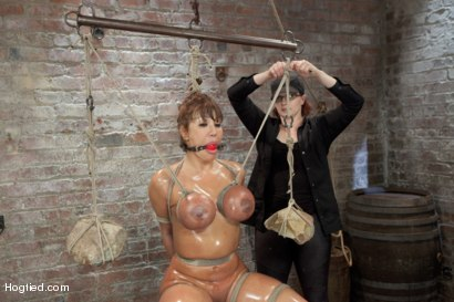 Photo number 15 from Ava Devine Wants It BAD shot for Hogtied on Kink.com. Featuring Ava Devine in hardcore BDSM & Fetish porn.