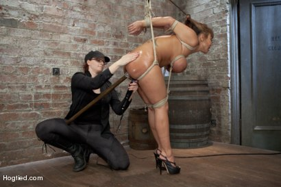 Photo number 6 from Ava Devine Wants It BAD shot for Hogtied on Kink.com. Featuring Ava Devine in hardcore BDSM & Fetish porn.
