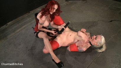 Photo number 15 from The Fuck Doll shot for Chantas Bitches on Kink.com. Featuring Lorelei Lee and Mz Berlin in hardcore BDSM & Fetish porn.