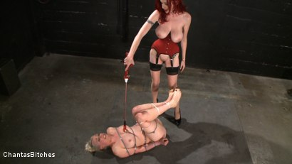 Photo number 6 from The Fuck Doll shot for Chantas Bitches on Kink.com. Featuring Lorelei Lee and Mz Berlin in hardcore BDSM & Fetish porn.