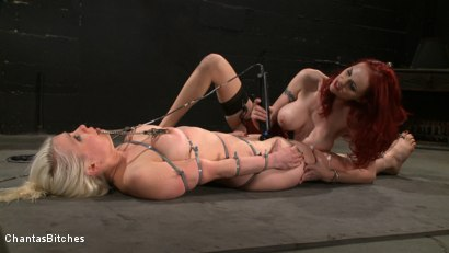 Photo number 9 from The Fuck Doll shot for Chantas Bitches on Kink.com. Featuring Lorelei Lee and Mz Berlin in hardcore BDSM & Fetish porn.