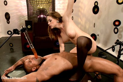 Photo number 6 from Proving His Worth To The Bitches shot for Divine Bitches on Kink.com. Featuring Chanel Preston and Robert Axel in hardcore BDSM & Fetish porn.