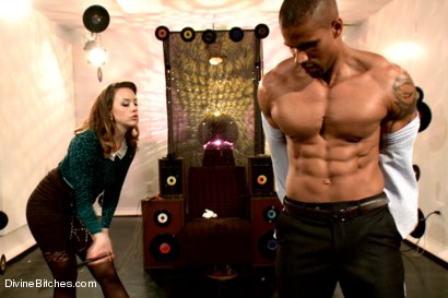 Photo number 15 from Proving His Worth To The Bitches shot for Divine Bitches on Kink.com. Featuring Chanel Preston and Robert Axel in hardcore BDSM & Fetish porn.