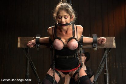 Photo number 15 from Extreme immobilization! Felony is at the mercy of two fierce Doms. shot for Device Bondage on Kink.com. Featuring Felony, Bella Rossi and Mz Berlin in hardcore BDSM & Fetish porn.