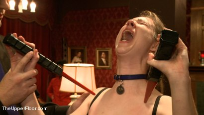 Photo number 6 from Lesbian Anal Training Party shot for The Upper Floor on Kink.com. Featuring Aiden Starr, Katharine Cane and Ariel X in hardcore BDSM & Fetish porn.