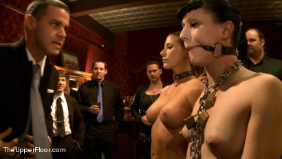Photo number 1 from Lesbian Anal Training Party shot for The Upper Floor on Kink.com. Featuring Aiden Starr, Katharine Cane and Ariel X in hardcore BDSM & Fetish porn.