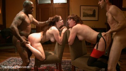 Photo number 13 from The Petitioning of Bella Rossi shot for The Upper Floor on Kink.com. Featuring Jack Hammer, Odile, Bella Rossi, Kristine Kahill, Maestro and James in hardcore BDSM & Fetish porn.