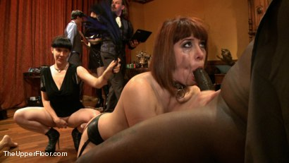 Photo number 7 from The Petitioning of Bella Rossi shot for The Upper Floor on Kink.com. Featuring Jack Hammer, Odile, Bella Rossi, Kristine Kahill, Maestro and James in hardcore BDSM & Fetish porn.