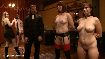 Photo number 15 from The Petitioning of Bella Rossi shot for The Upper Floor on Kink.com. Featuring Jack Hammer, Odile, Bella Rossi, Kristine Kahill, Maestro and James in hardcore BDSM & Fetish porn.