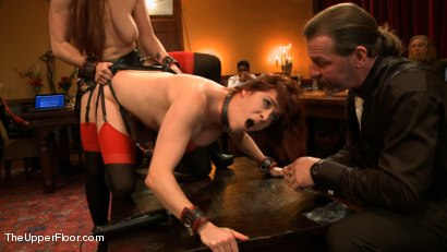 Photo number 4 from Blow Job Brunch shot for The Upper Floor on Kink.com. Featuring Bella Rossi, Odile and Danarama in hardcore BDSM & Fetish porn.