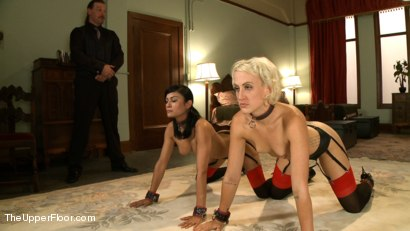 Photo number 10 from House Slave Review shot for The Upper Floor on Kink.com. Featuring Dylan Ryan, Beretta James and Maestro in hardcore BDSM & Fetish porn.