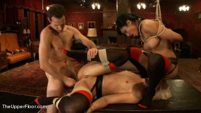 Photo number 12 from House Slave Review shot for The Upper Floor on Kink.com. Featuring Dylan Ryan, Beretta James and Maestro in hardcore BDSM & Fetish porn.