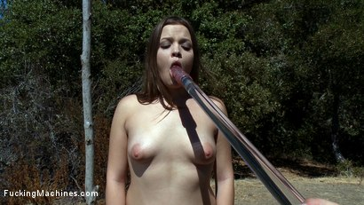 Photo number 2 from Part 2 of Deep Woods Invasion: The Return of Diane shot for Fucking Machines on Kink.com. Featuring Gia DiMarco and Ashlynn Leigh in hardcore BDSM & Fetish porn.
