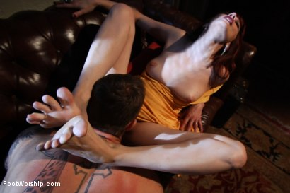 Photo number 7 from Kiss My Feet Deadly shot for Foot Worship on Kink.com. Featuring Maitresse Madeline Marlowe  and Christian Wilde in hardcore BDSM & Fetish porn.