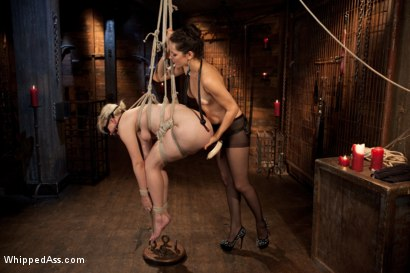 Photo number 11 from Alice Aims to Please shot for Whipped Ass on Kink.com. Featuring Bobbi Starr and Alice Frost in hardcore BDSM & Fetish porn.