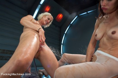 Photo number 10 from Killing the Machines with Pussy SQUIRT: Cytherea and Dylan Ryan shot for Fucking Machines on Kink.com. Featuring Cytherea and Dylan Ryan in hardcore BDSM & Fetish porn.
